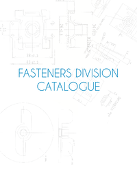 FASTENINGS CATALOGUE 2016